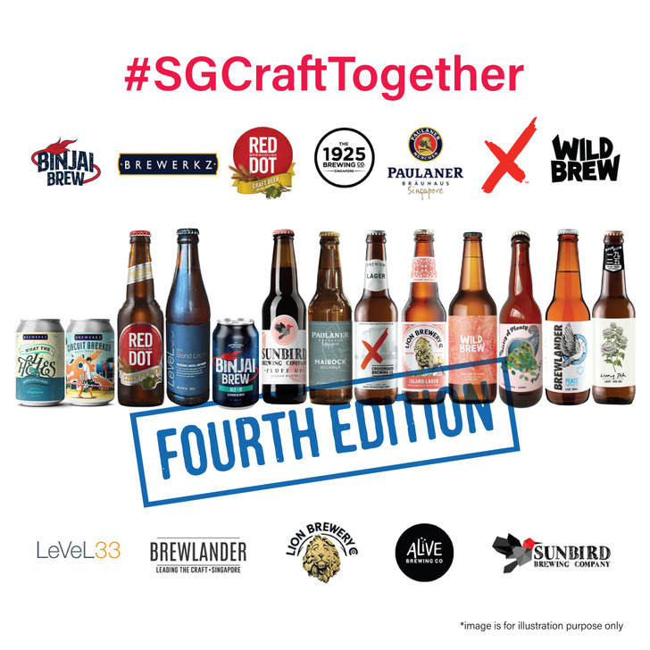 [Sold Out] #SGCraftTogether Local Breweries 12 Pack (4th Edition)