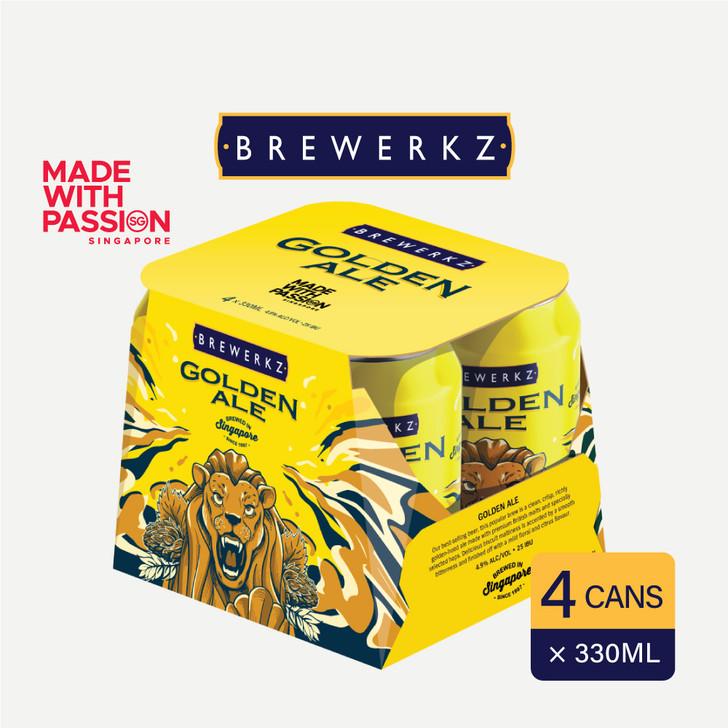 Golden Ale - 4 x 330ml