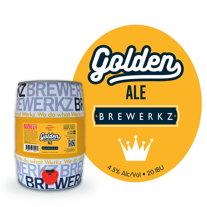 Golden Ale - 5L Mini Keg
