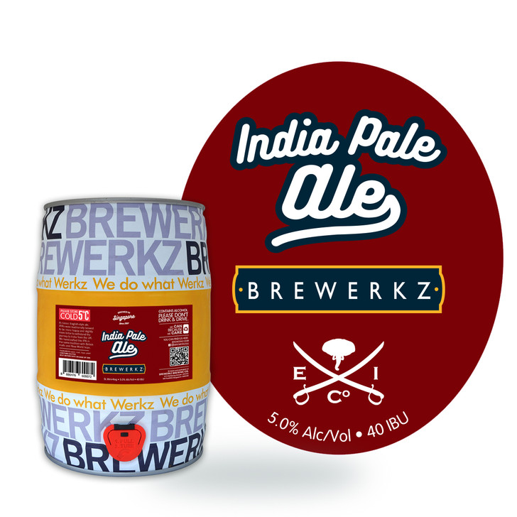 India Pale Ale - 5L Mini Keg