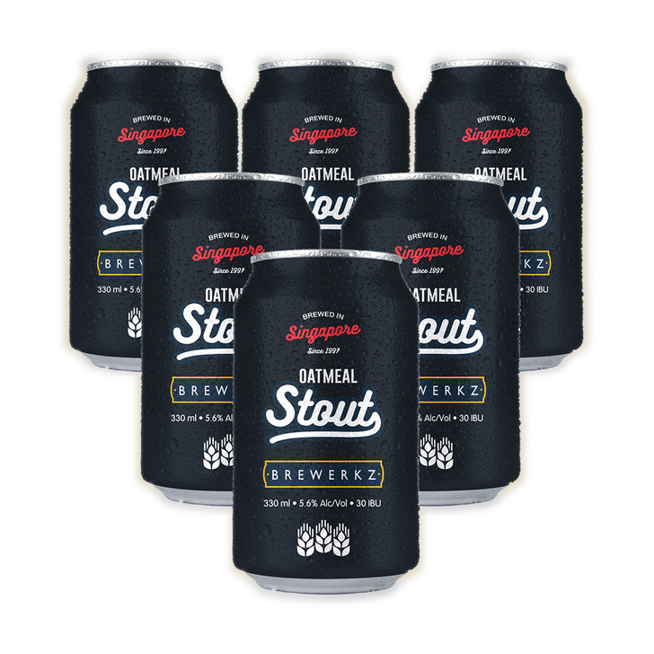 [20% OFF] Oatmeal Stout - 6 x 330ml