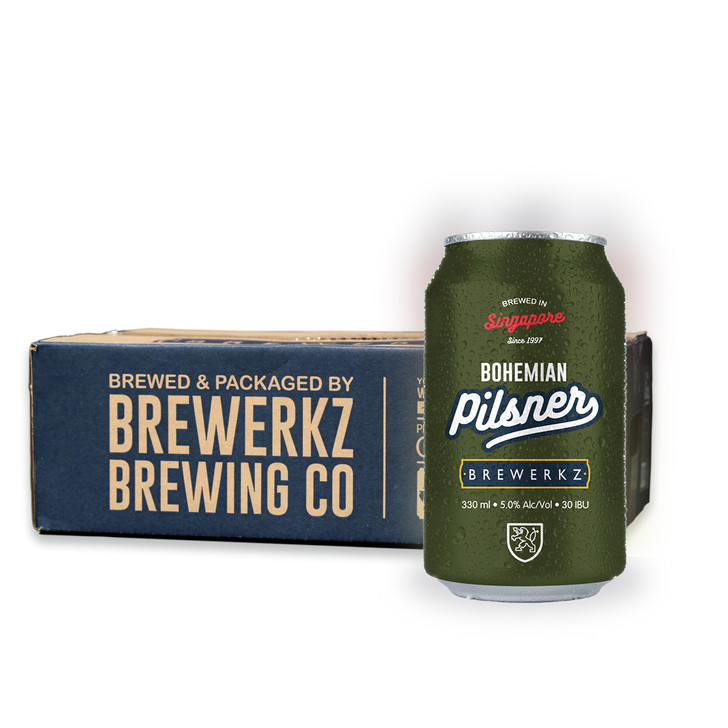 [20% OFF] Bohemian Pilsner  - 24 x 330ml