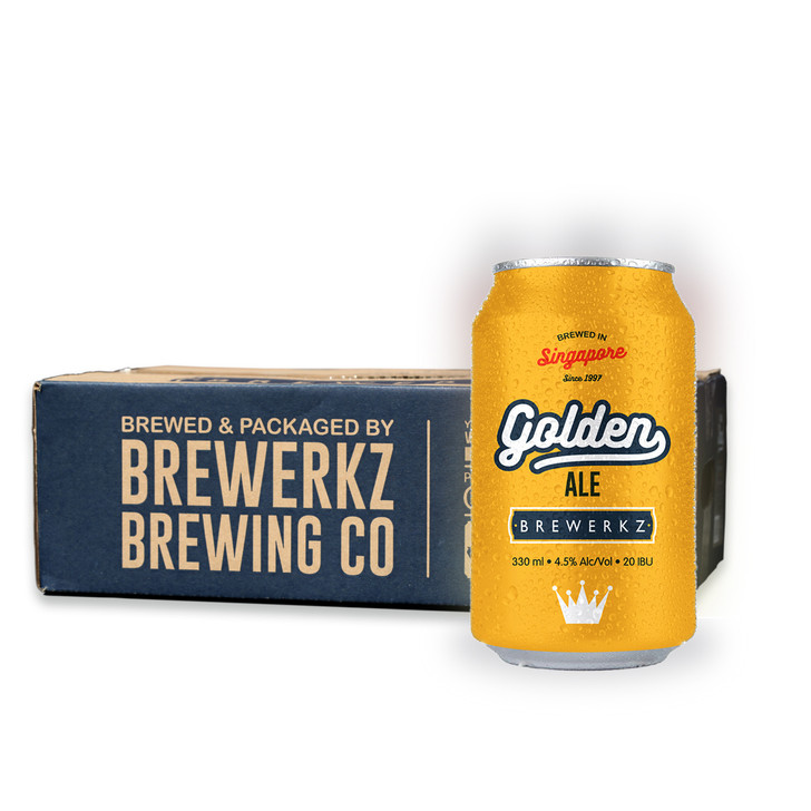 Golden Ale - 24 x 330ml