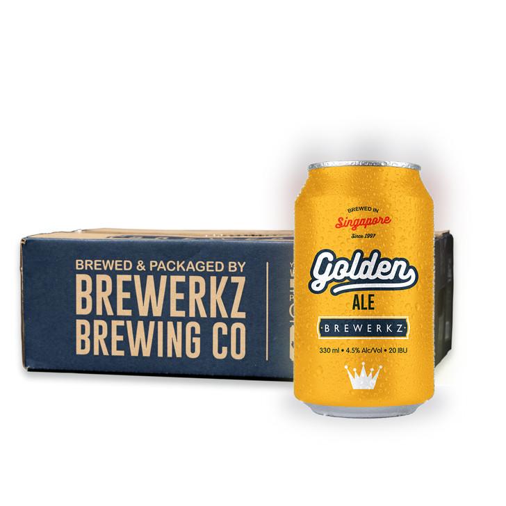 [20% OFF] Golden Ale - 24 x 330ml