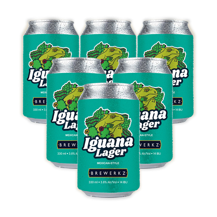 Iguana Lager - 6 x 330ml