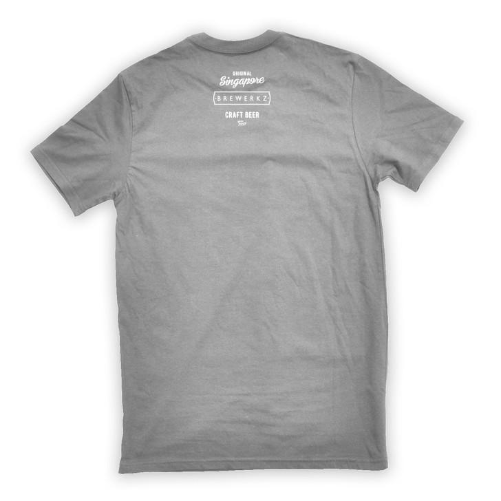 I Love SG Craft Beer T-Shirt (Grey)