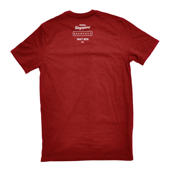 Brewerkz Logo T-shirt (red)