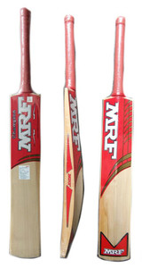 CRICKET BAT MRF CHAMPION PREMIUM GRADE PLUS TWO FREE RUBBER GRIPS & SCUFF SHEET