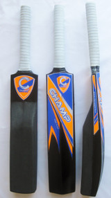 CHAMP CUSTOM DESIGNED FOAM CATCH PRACTICE CRICKET BAT PLUS FREE EXTRAS