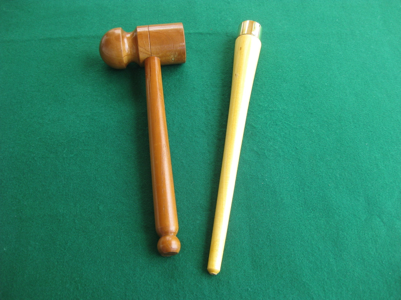 Flat /& Rounded and Gripping Cone Set Bat Mallet