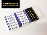 Custom Printed LEGO Police Signs