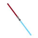 Double Light Sabre - Blue & Red