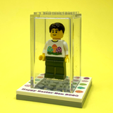 Personalised Happy Easter Display Box with Mini-Figure