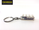 Thank you to My Teacher LEGO display box with a FREE Keyring!