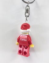 Personalised LEGO Father Christmas Keyring