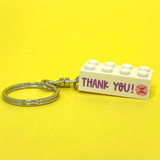 Personalised 'Thank You' Keyring