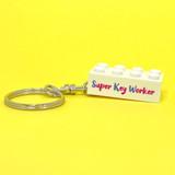 Personalised 'Super Key Worker' Keyring