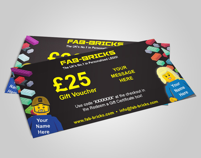 £25 Gift Voucher from FAB-BRICKS