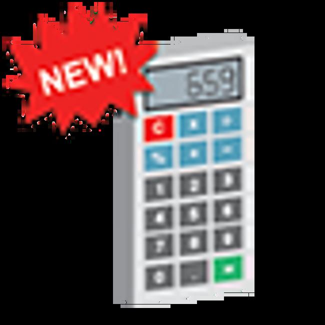 Custom Printed Calculator
