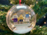 Personalised Happy Christmas Family Bauble! 3 Figures included!