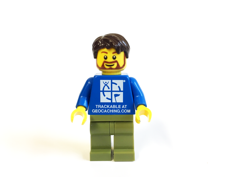 Trackable GEOCACHING® Minifigure