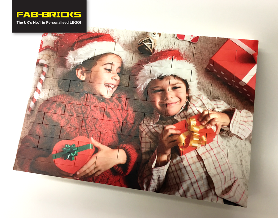 Medium Printed Brick Wall - You image printed on to LEGO bricks!