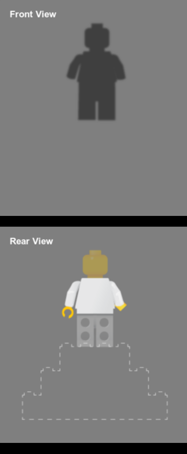 Custom Minfig 1530623778 with small display case