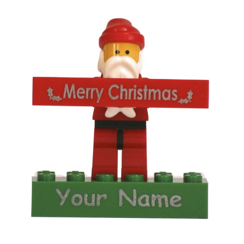 Santa Minifigure