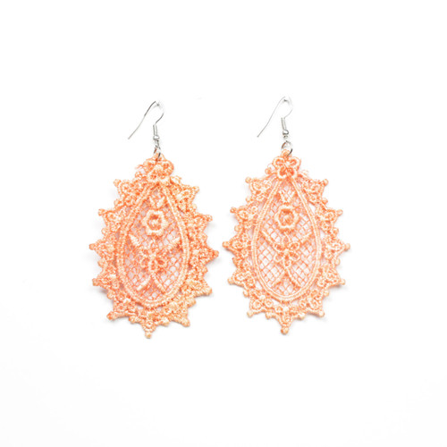 Fancy Lace Drop Earring