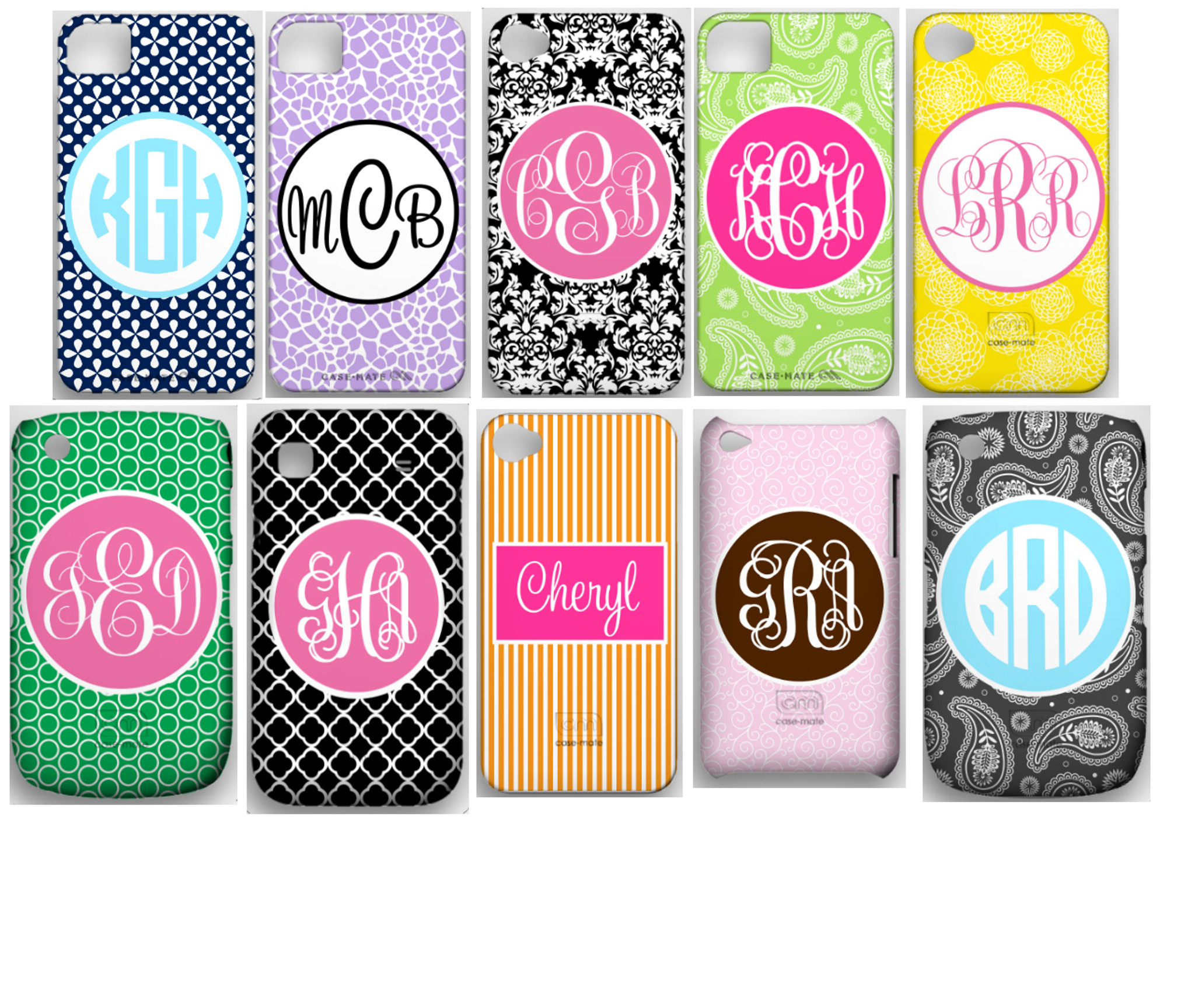 official photos f50e1 1eb0c Personalized iphone Covers ~ Monogrammed Cell Phone Case