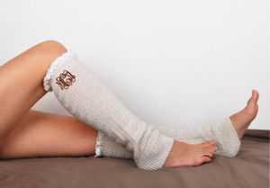 Monogrammed Leg Warmer Boot Socks