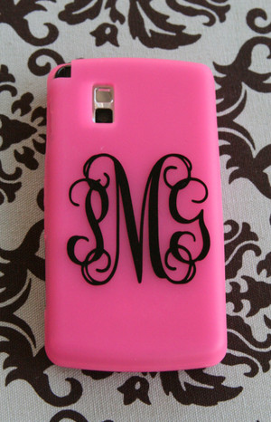 Black Interlocking Monogram