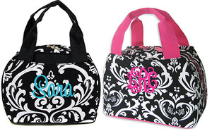 Damask Lunch Tote - www.tinytulip.com