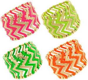 Fashion Stretch Chevron Bracelet www.tinytulip.com