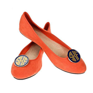 Monogrammed Shoe Clips  www.tinytulip.com