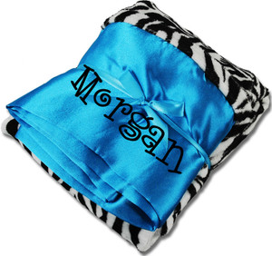 Monogrammed Minky Pillowcase