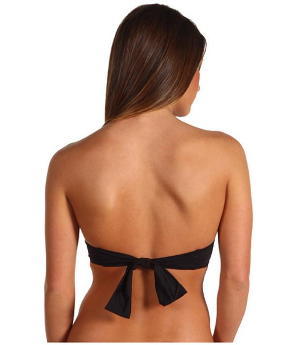Monogrammed Bandeau Bathing Suit Tube Top www.tinytulip.com