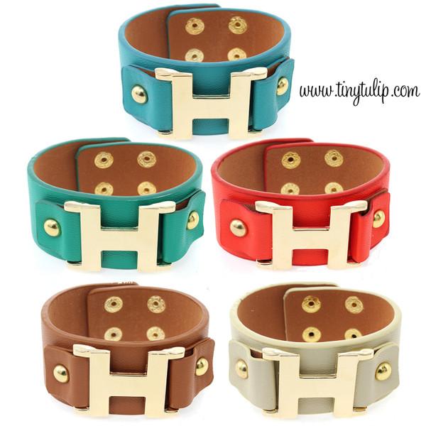 Faux Leather Wrap Bracelet Free Shipping