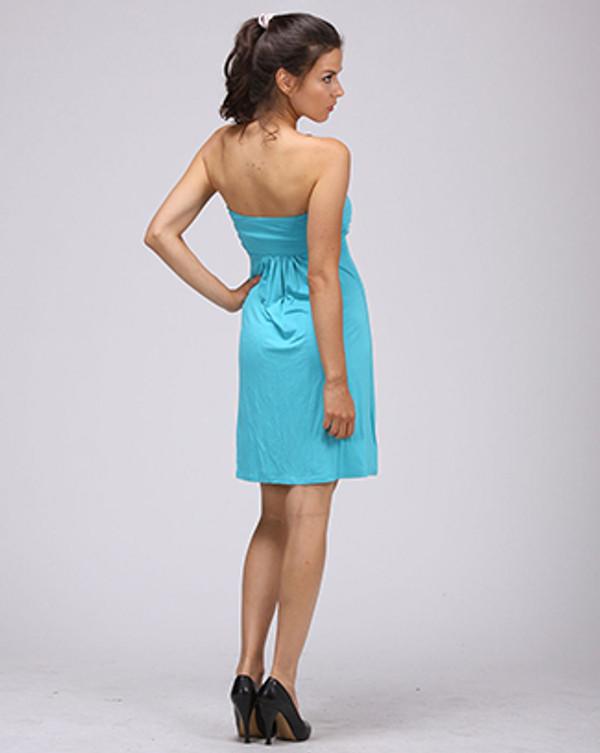 Monogrammed Strapless Tube Dress Swim Cover up www.tinytulip.com
