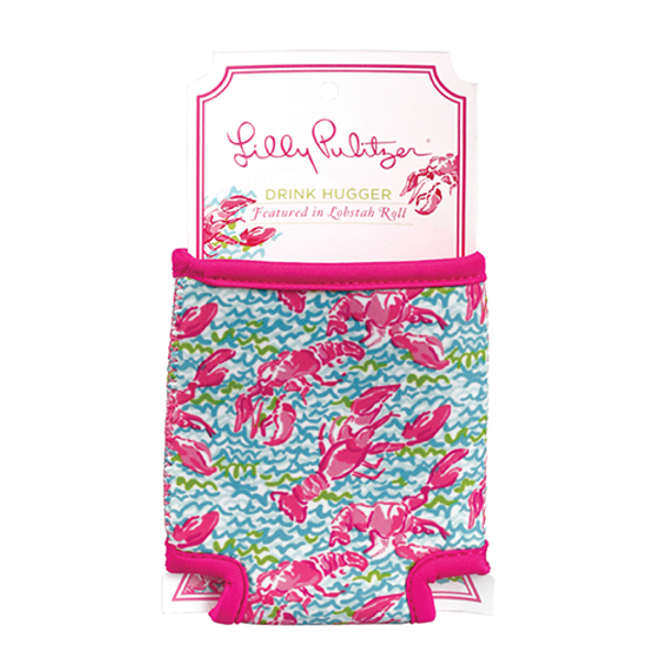 Monogrammed Lilly Pulitzer Can Koozie www.tinytulip.com Lobstah Roll