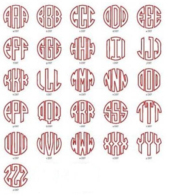 Monogrammed Lilly Pulitzer Quarter Zip Pullover www.tinytulip.com Circle Applique Font