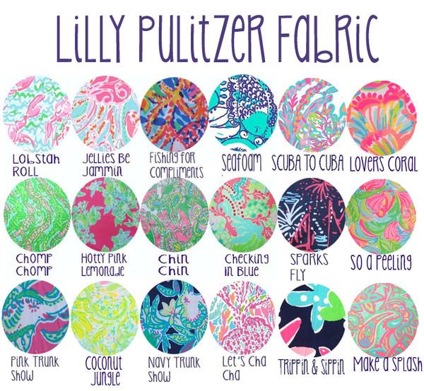 Lilly Pulitzer Long Sleeve Monogrammed Pocket T Shirt