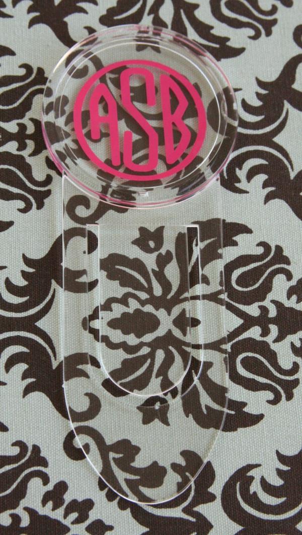 Acrylic Bookmark