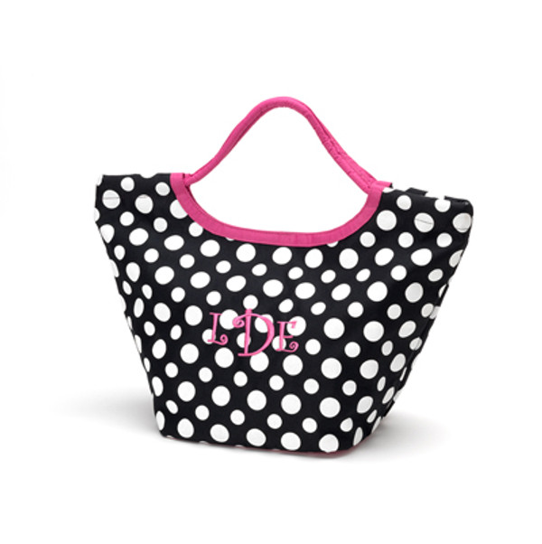 Colored Dot Everything Tote