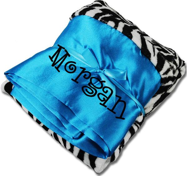 Monogrammed Minky Pillowcase