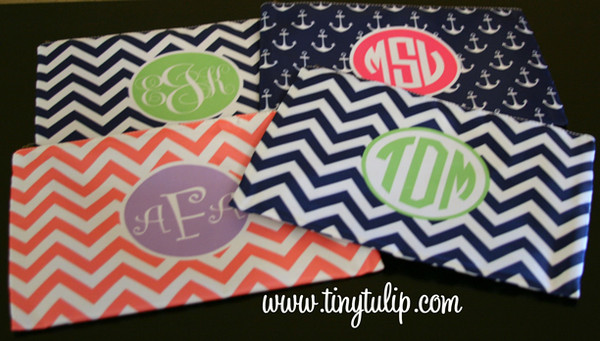 Customized Pencil Case Monogrammed