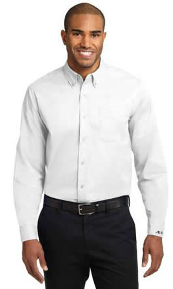 Mens Cuff Monogrammed Dress Shirt www.tinytulip.com
