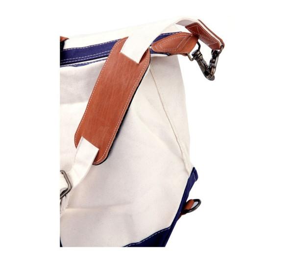 Monogrammed Classic Satchel Duffle Travel Bag www.tinytulip.com