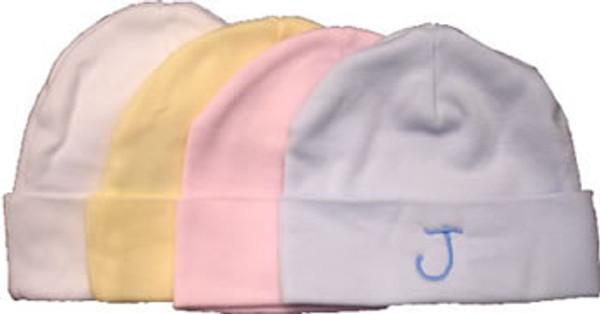 Boutique Baby ~ Infant Beanie Cap Monogrammed