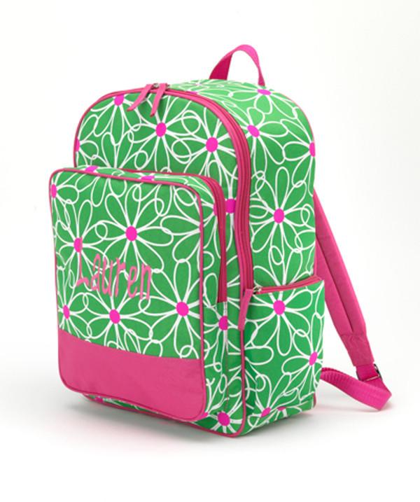 Polka Dot & Flower Backpacks Flower Backpack